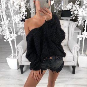 POL Fuzzy Sweater